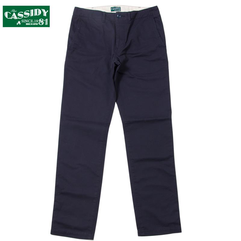 CASSIDY'81 [キャシディ'81] - NEW STANDARD CHINO PANTS / NAVY