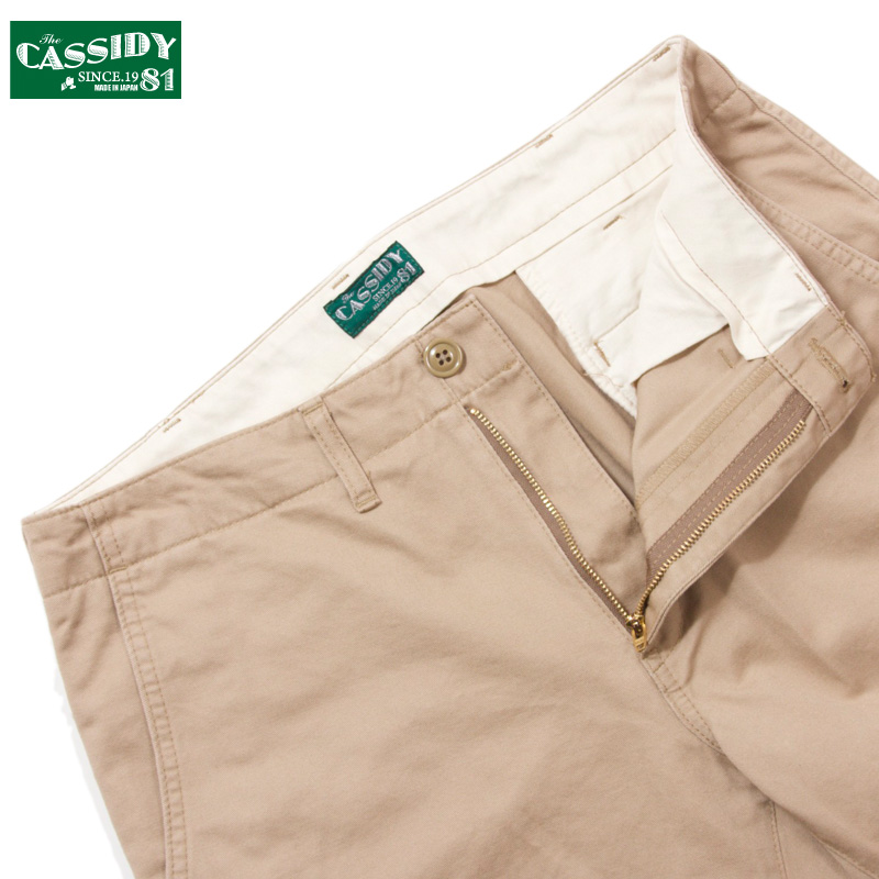 CASSIDY'81 [キャシディ'81] - NEW STANDARD CHINO PANTS / KHAKI
