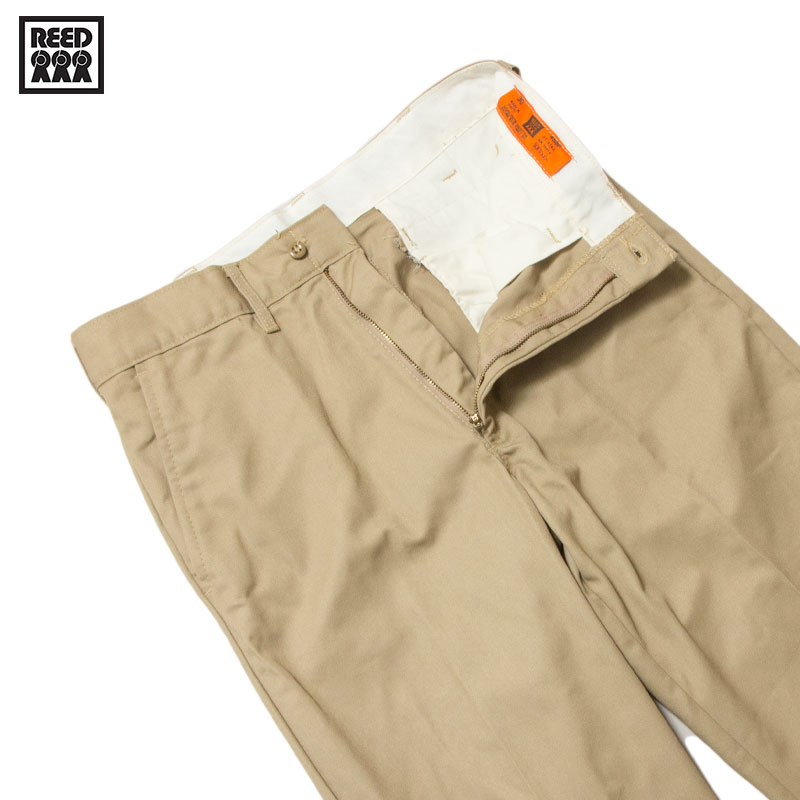 【REED MANUFACTURING】 - COVENTIONAL PANT / KHAKI