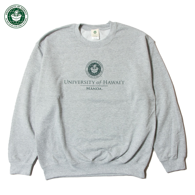 University of Hawaiʻi at Mānoa - Classic Crew Sweatshirt / 3Col.
