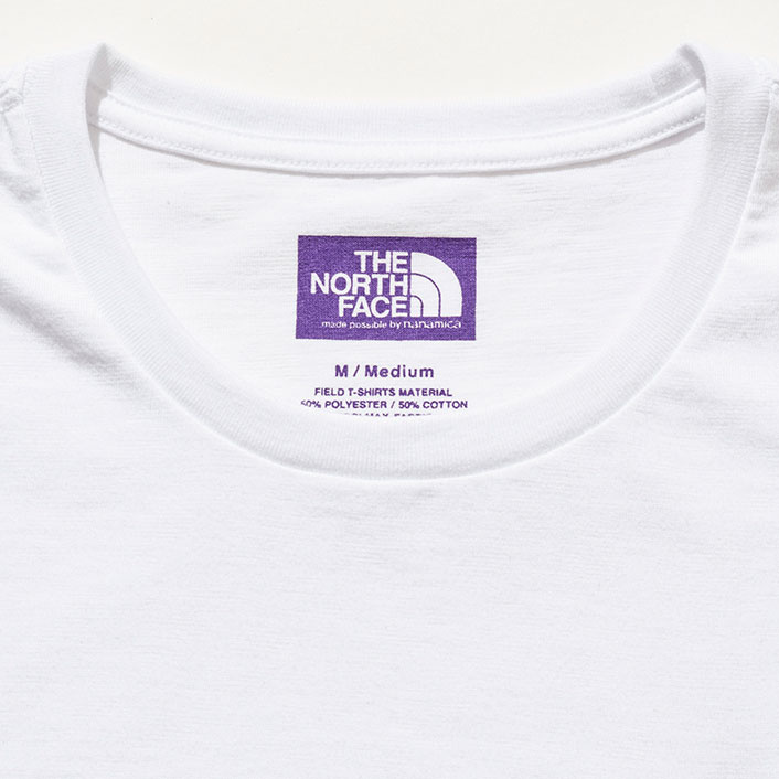 THE NORTH FACE PURPLE LABEL [ノースフェイス パープルレーベル] _ Pack Field Tee / WHITE
