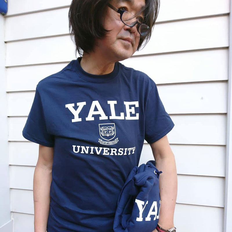 IVYSPORT [アイビースポーツ] - Yale Crest T-Shirt (Navy)