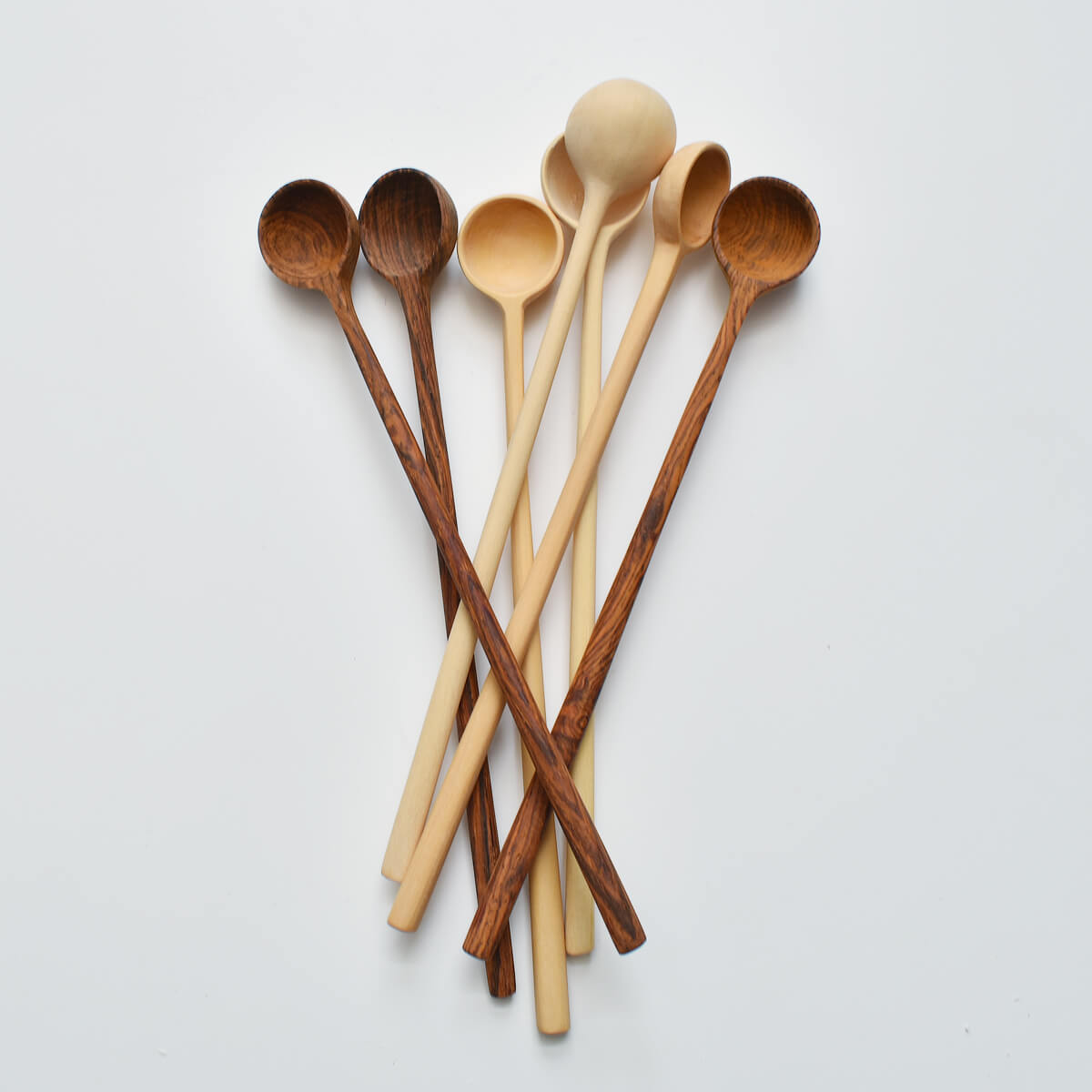 WOOD COCKTAIL SPOON