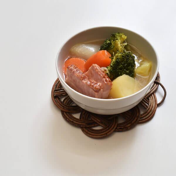 あけびの鍋敷、ポット敷
