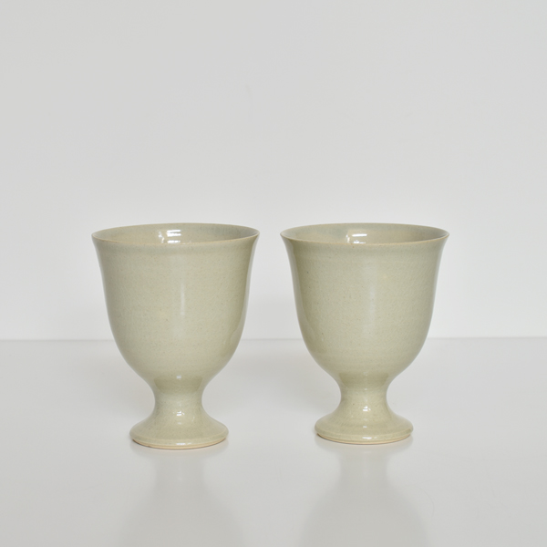 HANDTHROWN GOBLET