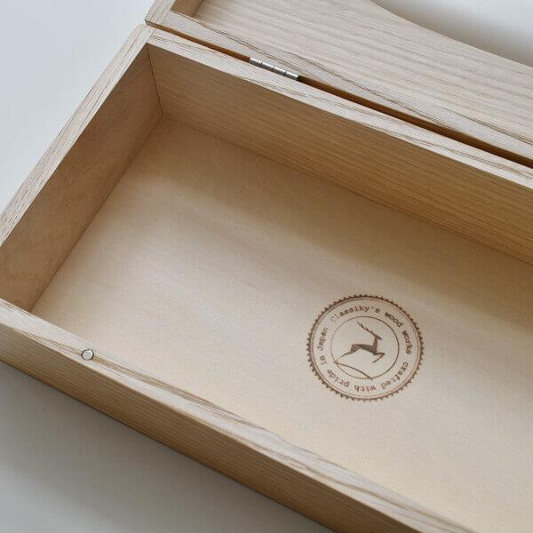 栗のティッシュボックス