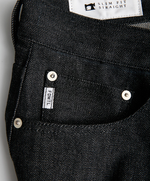 TRACE BLACK DENIM RIGID