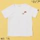ワンポイント刺繍Tシャツ 100 110 120 130cm(8133-5410)