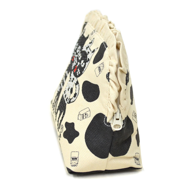 2021年限定商品◆キャッツフレンズ Kiss Cow フリルポーチ