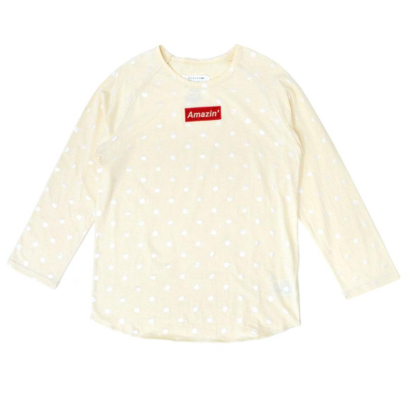 【SALE】【30%OFF】Amazin' ドットロングTシャツ