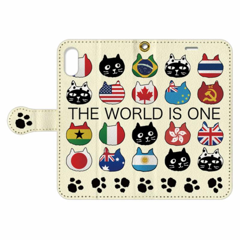 【オンライン限定商品】Me&Yo OneWorld手帳型スマホケース