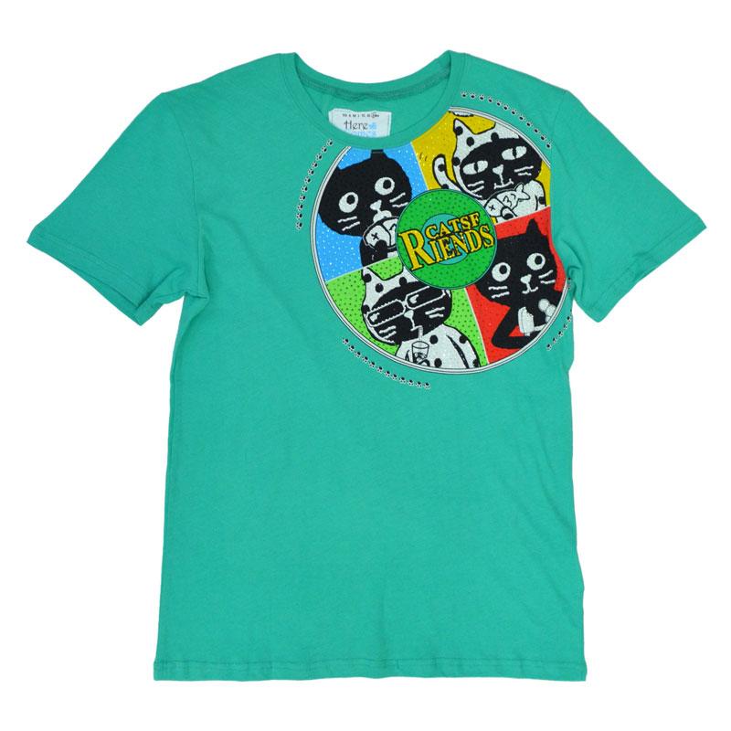 キャッツフレンズレコードTシャツ