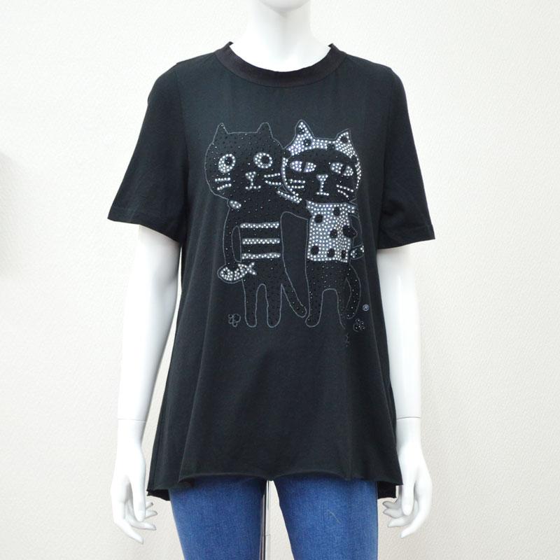 キャッツフレンズボタンTシャツ