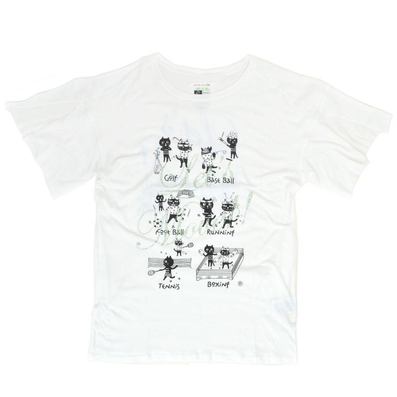 Let's MoveキャッツフレンズTシャツ