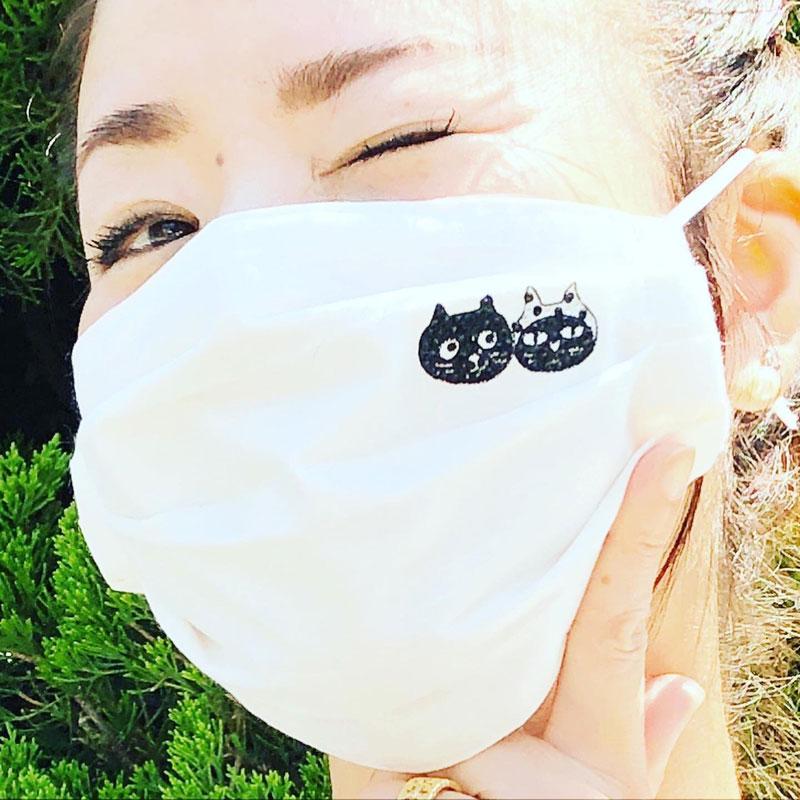 キャッツフェイスマスク(大人用)