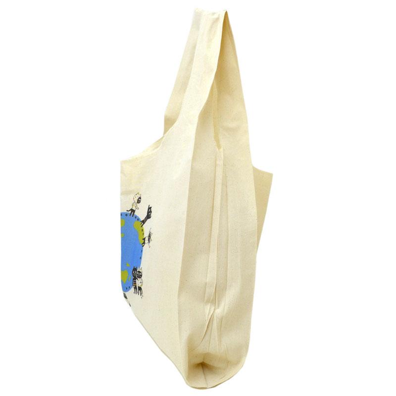 【オンライン限定商品】キャッツフレンズOn the EARTHコットンマルシェLバッグ