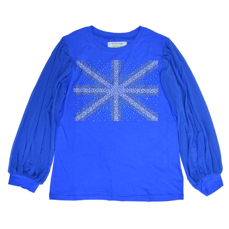 ユニオンジャックロングTシャツ