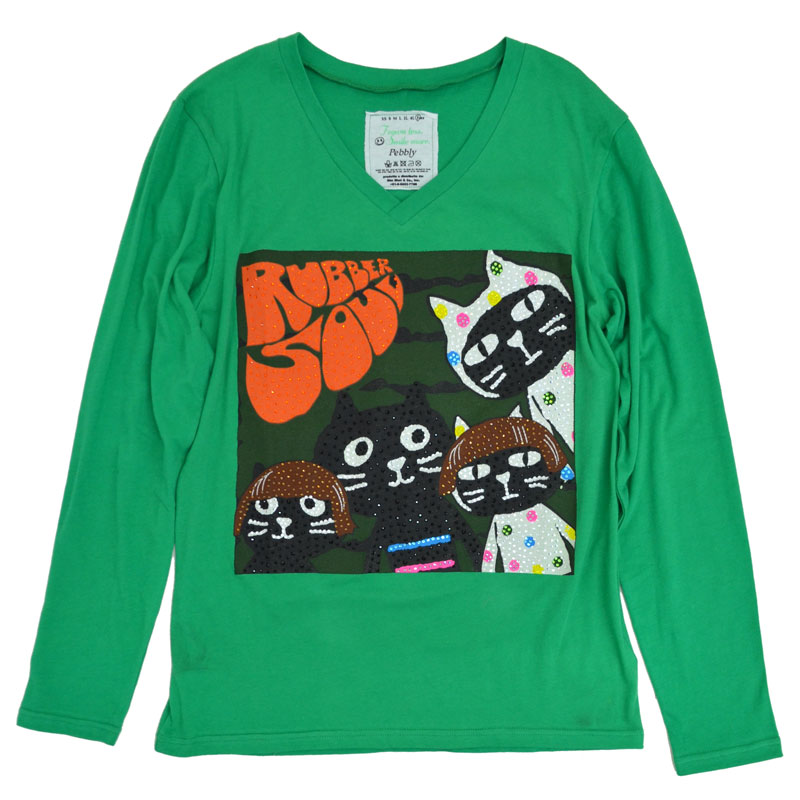 【SALE】【1000円OFF】Me&YoラバーソウルロングTシャツ