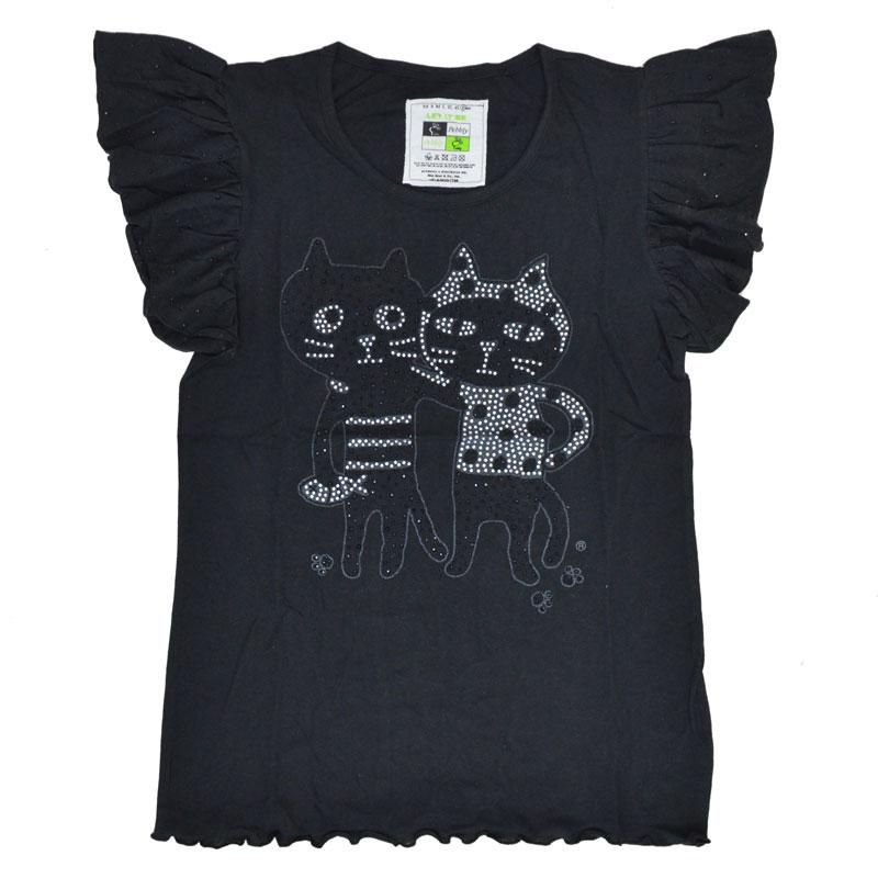 キャッツフレンズフリルTシャツ