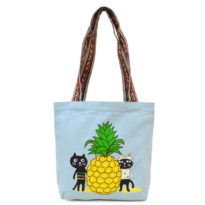 Me&Yo パイナップルビーチバッグ