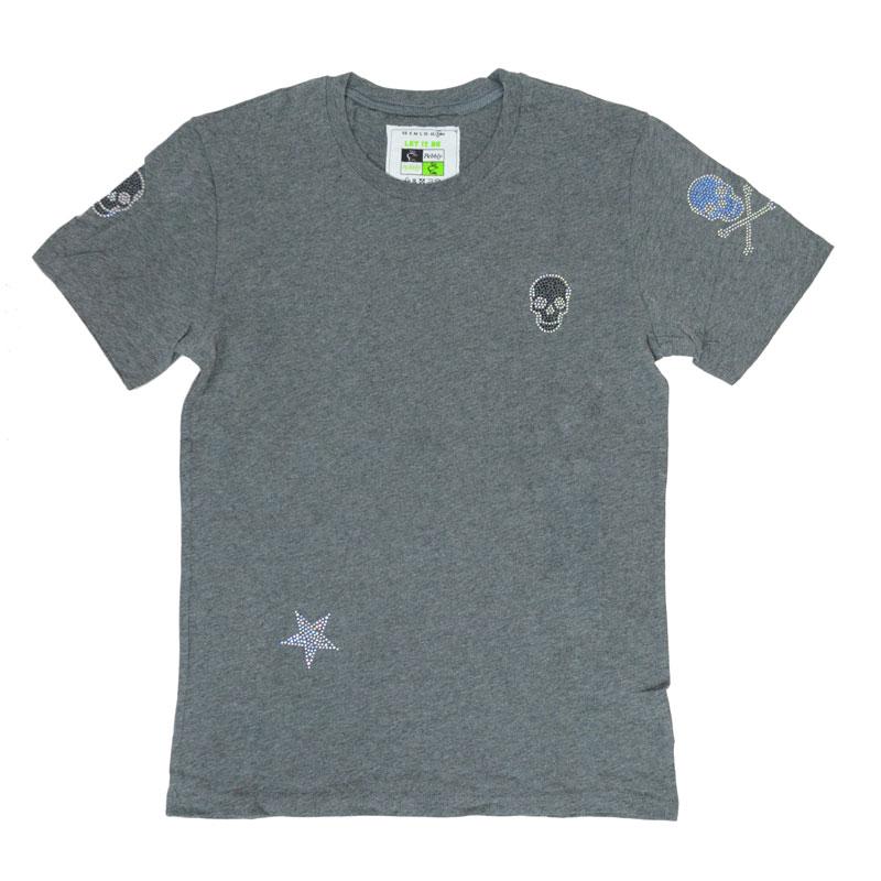 【SALE】【1000円OFF】6スカルスターTシャツ