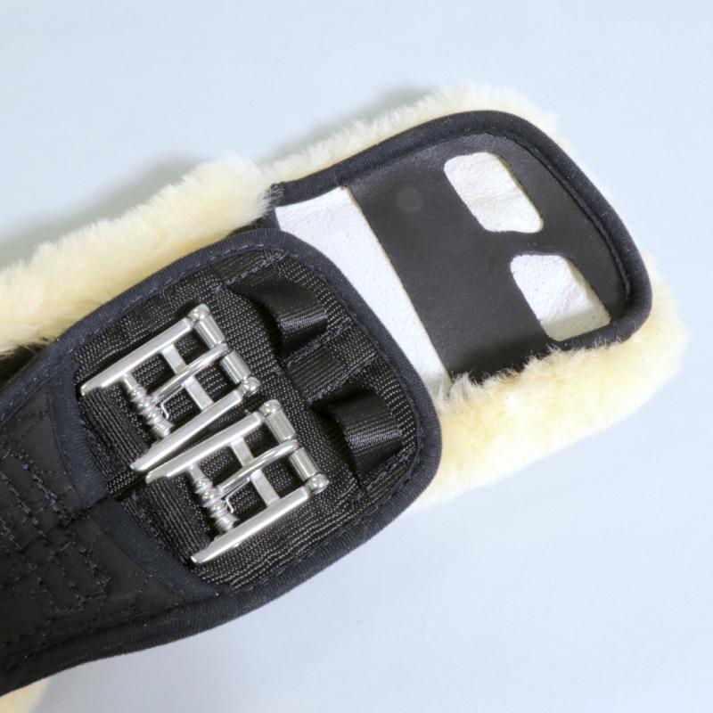 E.A.MATTES(マテス) 羊毛ドレッサージュ腹帯 羊毛取外タイプ