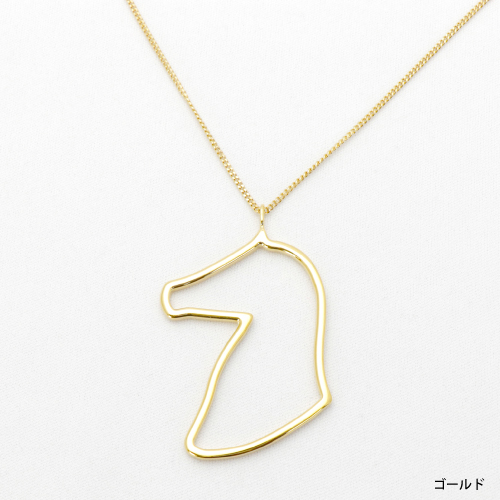 DES-ORI HORSE ネックレスPROFILE SMALL