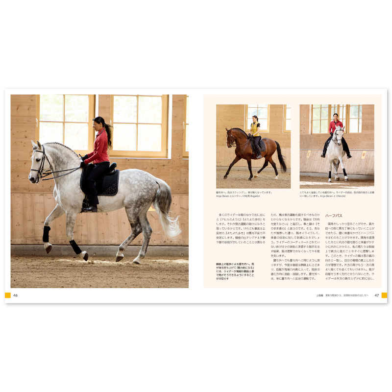 馬場馬術の美しい騎座 −騎乗時の姿勢・呼吸とエクササイズ−