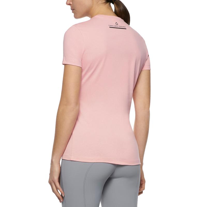 CAVALLERIA TOSCANA(カヴァレリア トスカーナ)TSD043 Tシャツ レディース