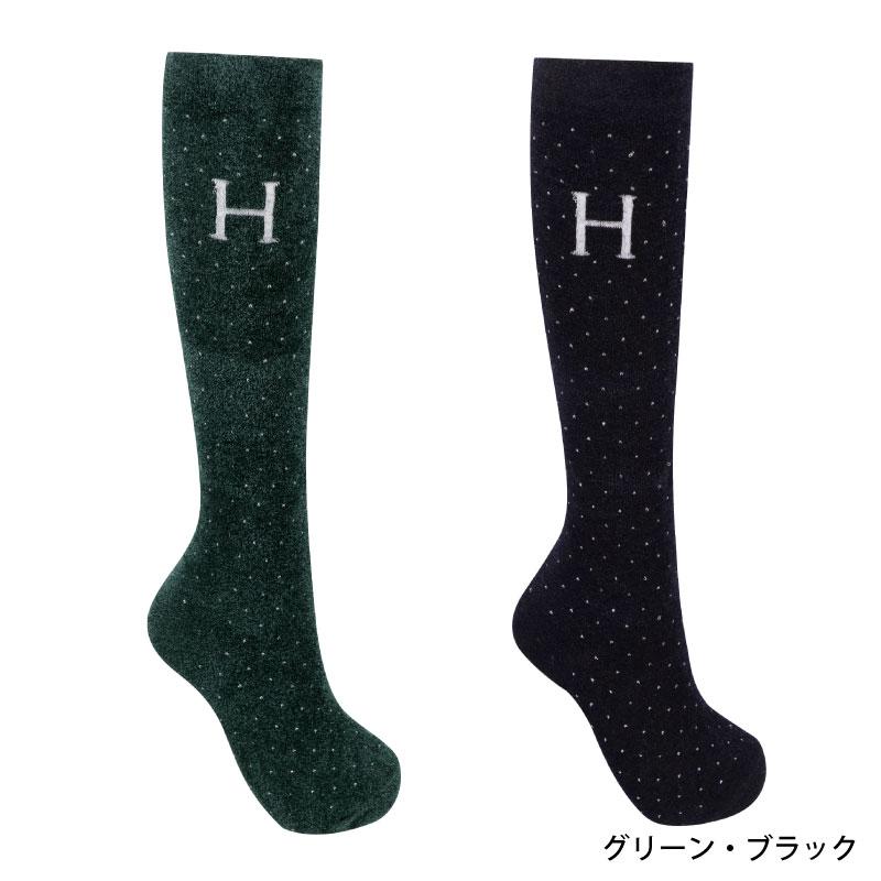 【NEWFAIR】HARCOUR(アークア) レトロ ソックス 2足セット