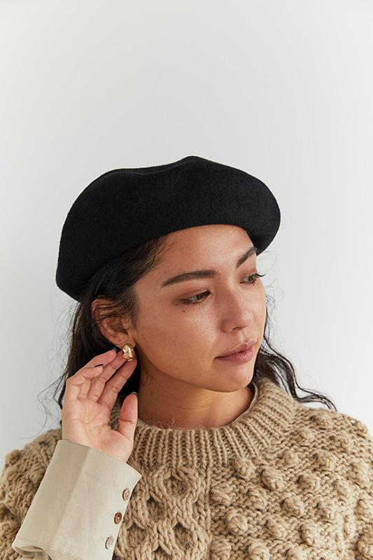 ベーシックウールベレー帽/CAVEZA ROSSO/カベサロッソ
