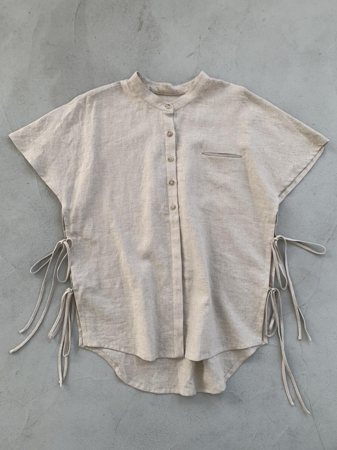 サイドオープンバンドカラーシャツ/CAVEZA ROSSO/カベサロッソ