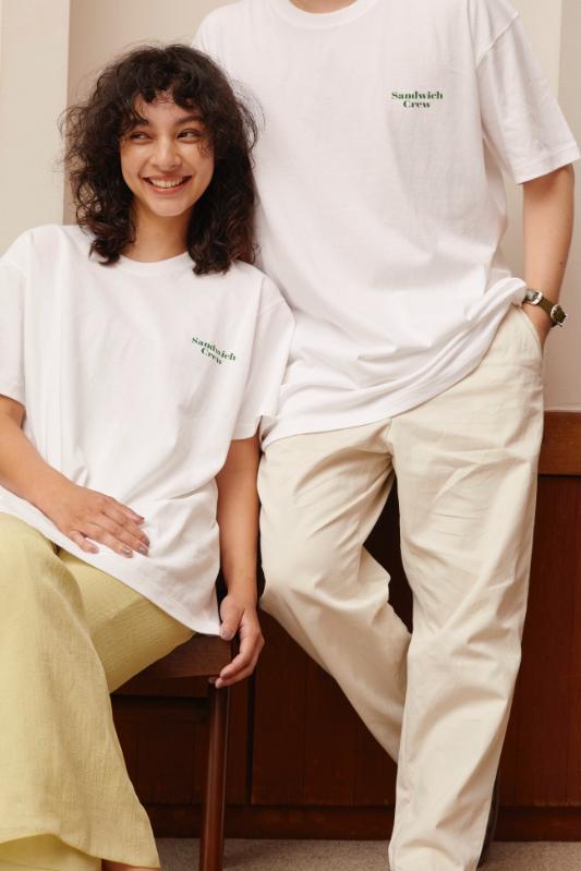 Sandwich Crew Tシャツ/CAVEZA ROSSO/カベサロッソ