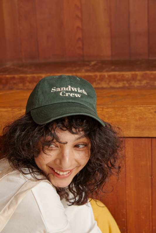 Sandwich Crew キャップ/CAVEZA ROSSO/カベサロッソ