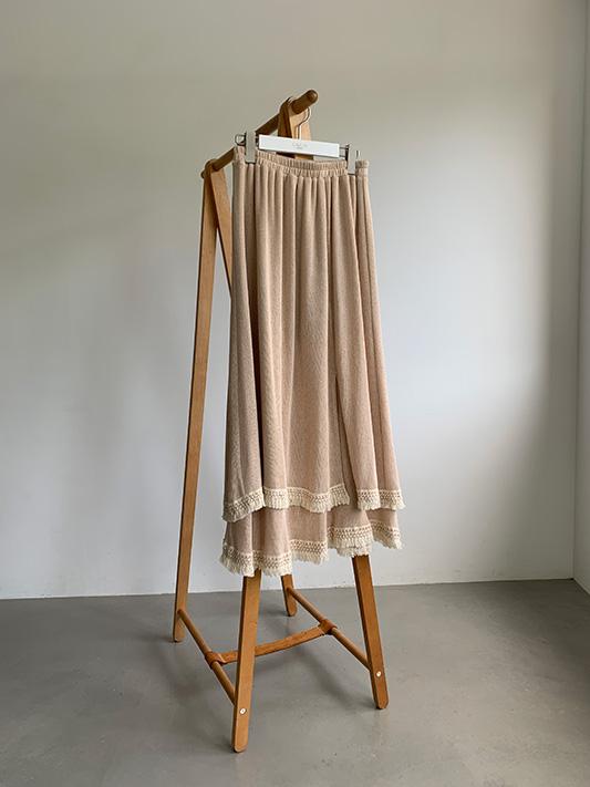 ヘムフリンジロングスカート/CAVEZA ROSSO/カベサロッソ