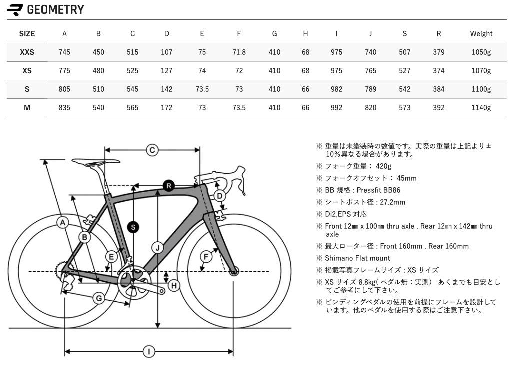 RIDLEY FENIX SL DISC 105 2020年モデル