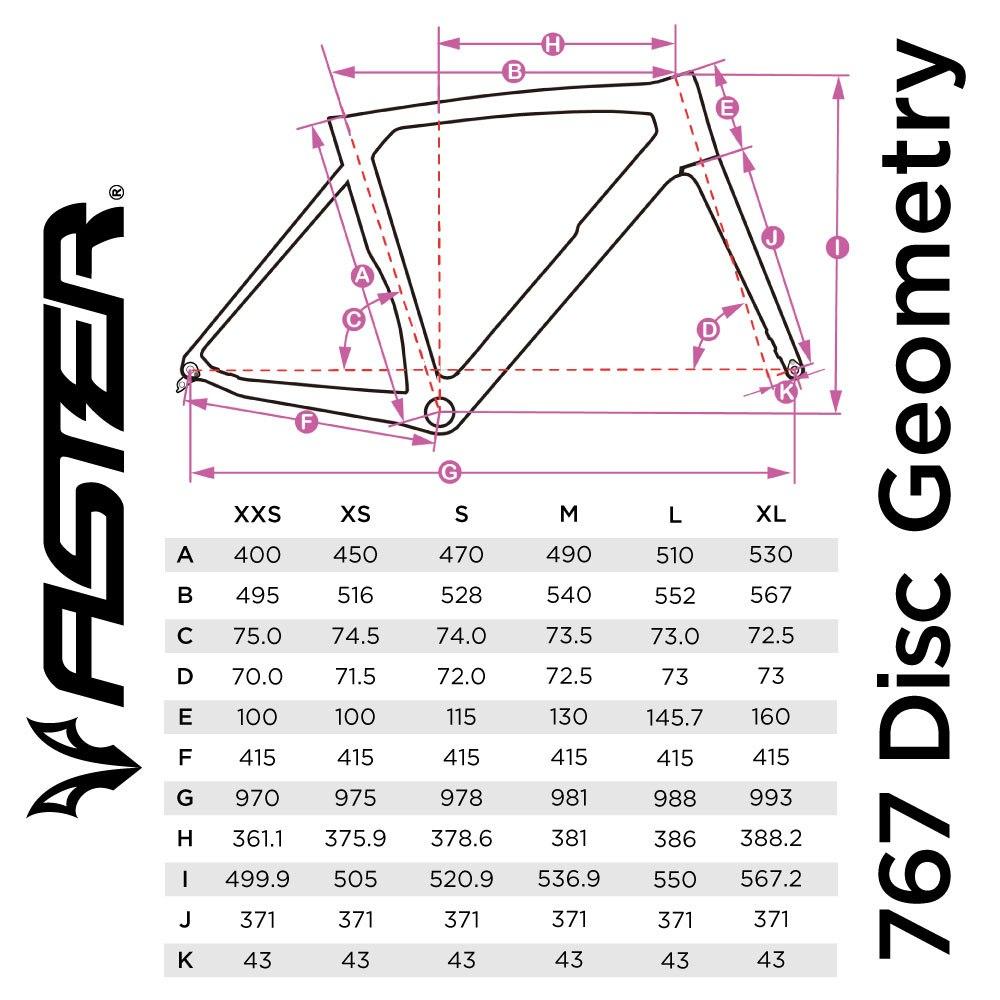 ASTER 767DISC 105 2021年モデル【フレームのみ】