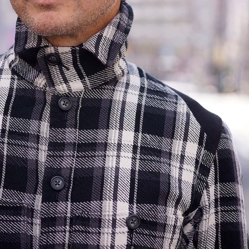 JS-EA01 / チェックシャツジャケット