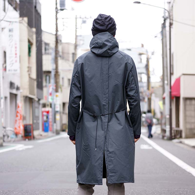 JK-EB05 / フード付エプロンコート