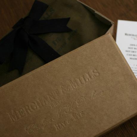 MERCHANT&MILLS マーチャン&ミルズ|OILSKIN SEWING KIT