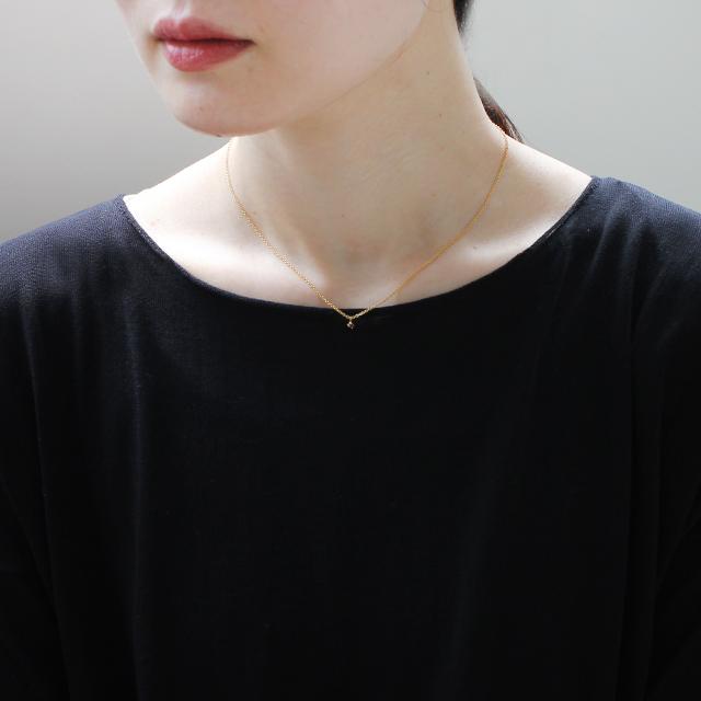 Laboratorium ラボラトリウム cross setting necklace