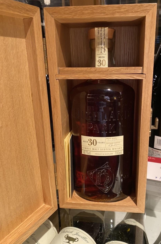 ハイランドパーク30年 シェリーカスク  オールドボトル専用木箱 冊子付