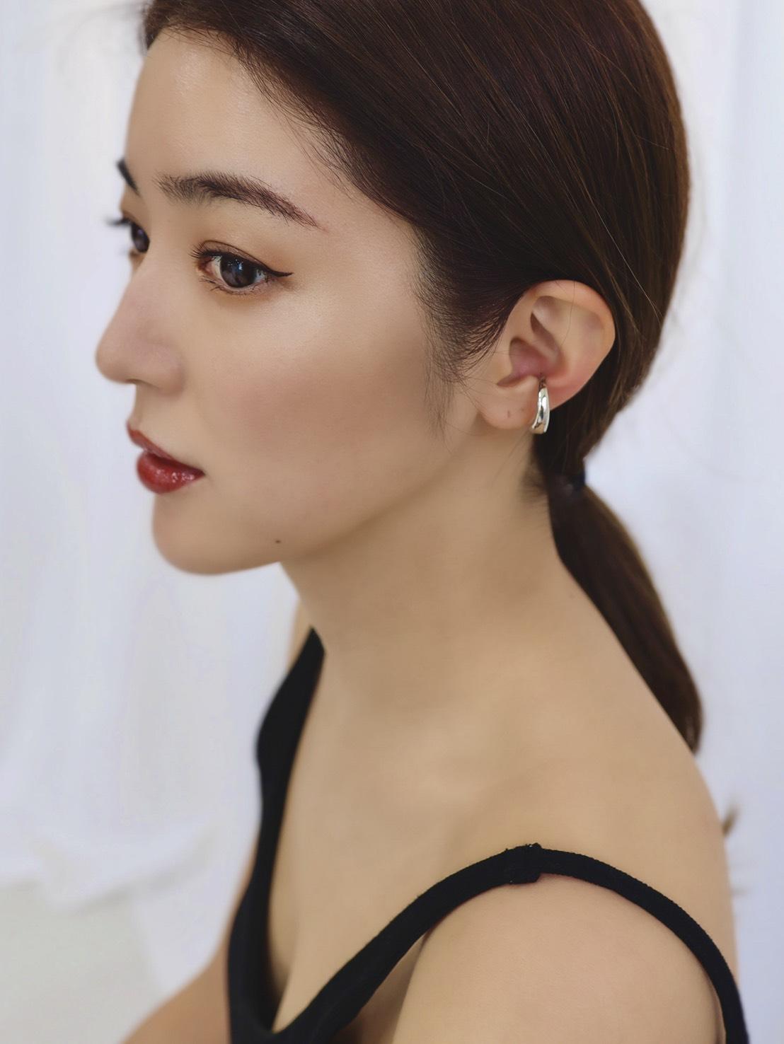 Marie Ear cuff SILVER