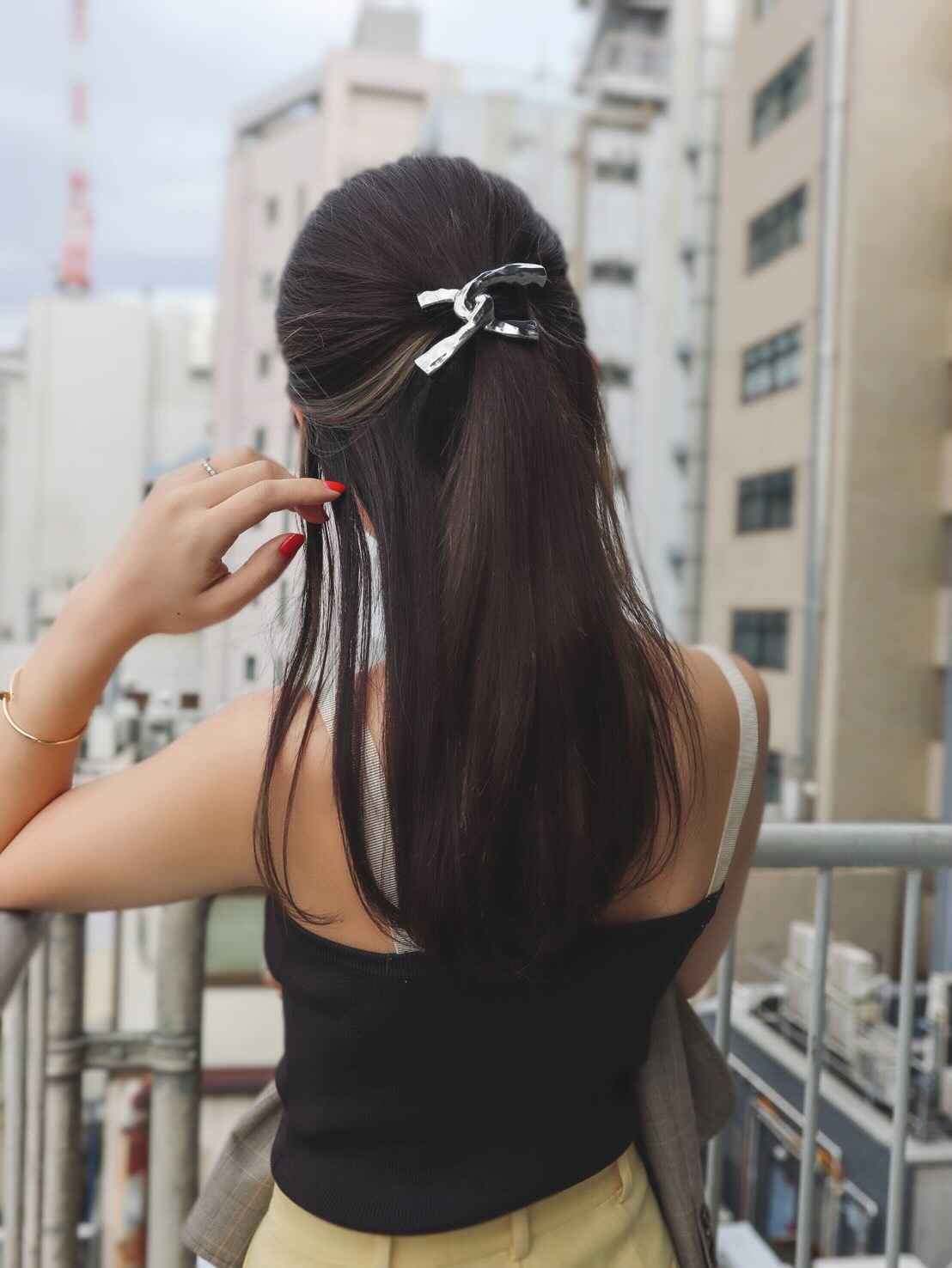 """C""Hair Charm"
