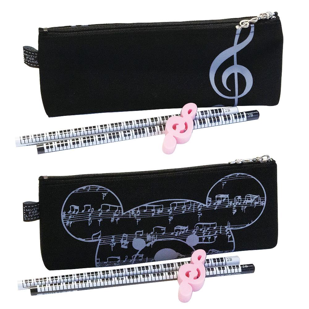 ステーショナリーセットA ブラック/ピンク ※4月19日までの限定品