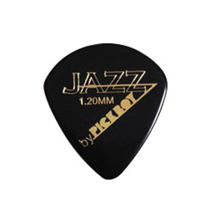 JAZZ PICK ブラック 1.00mm〜1.50mm 20枚入り