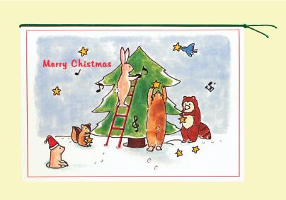 ギフトカード/クリスマス