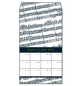 月謝袋 楽譜 10枚セット