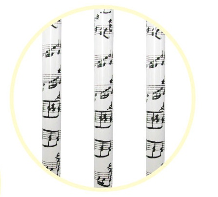譜面鉛筆3本セット ホワイト