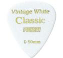 VINTAGE CLASSIC セルロイドピック ティアドロップ ホワイト 0.50mm~1.20mm 20枚入り